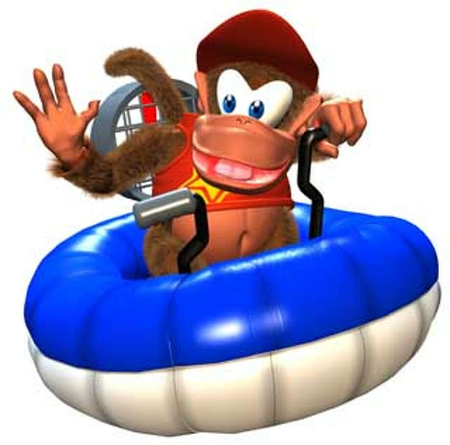 This is an illustration from the game DIDDY KONG RACING. HANDOUT Photo: HANDOUT