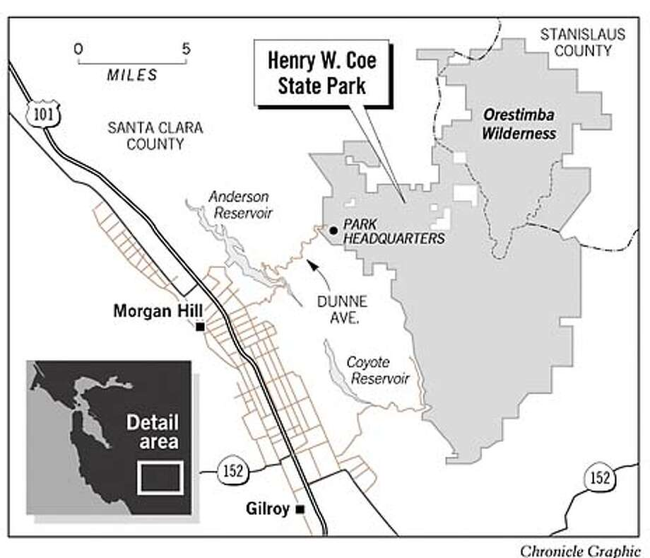 Henry Coe State Park Rooting Out Wild Pigs SFGate - Wild pigs map us 1930 2016