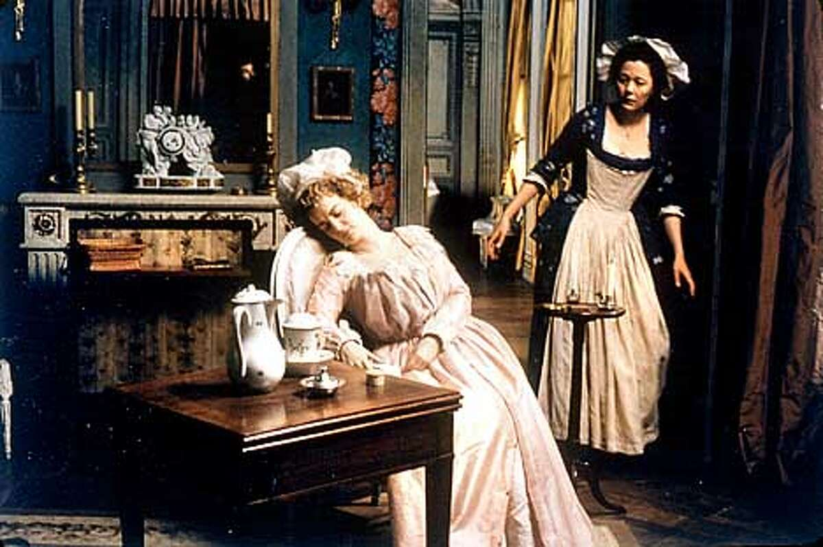 Left to right: Caroline Morin as Nanon and Lucy Russell as Grace in,