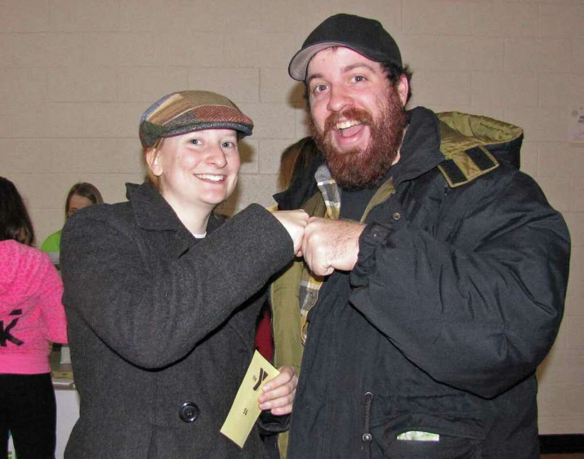 Were you seen on Jan. 29 at the Southern Saratoga YMCA participating in the most simultaneous fist bumps for the Guinness Book of World Records?