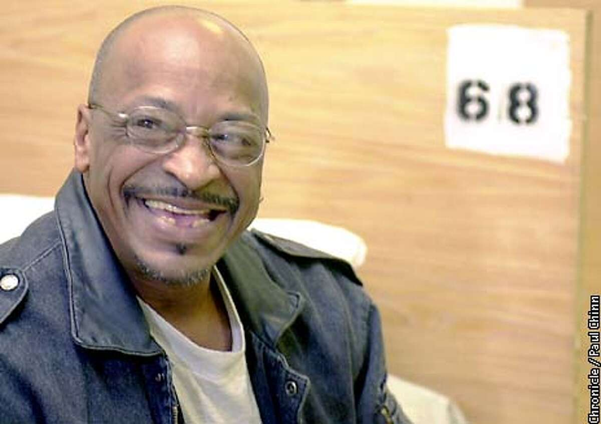 Howard Coleman is putting his life back together at The Next Door homeless shelter after a stint with crack cocaine landed him in jail. Coleman is now juggling two jobs to help support himself. PAUL CHINN/S.F. CHRONICLE