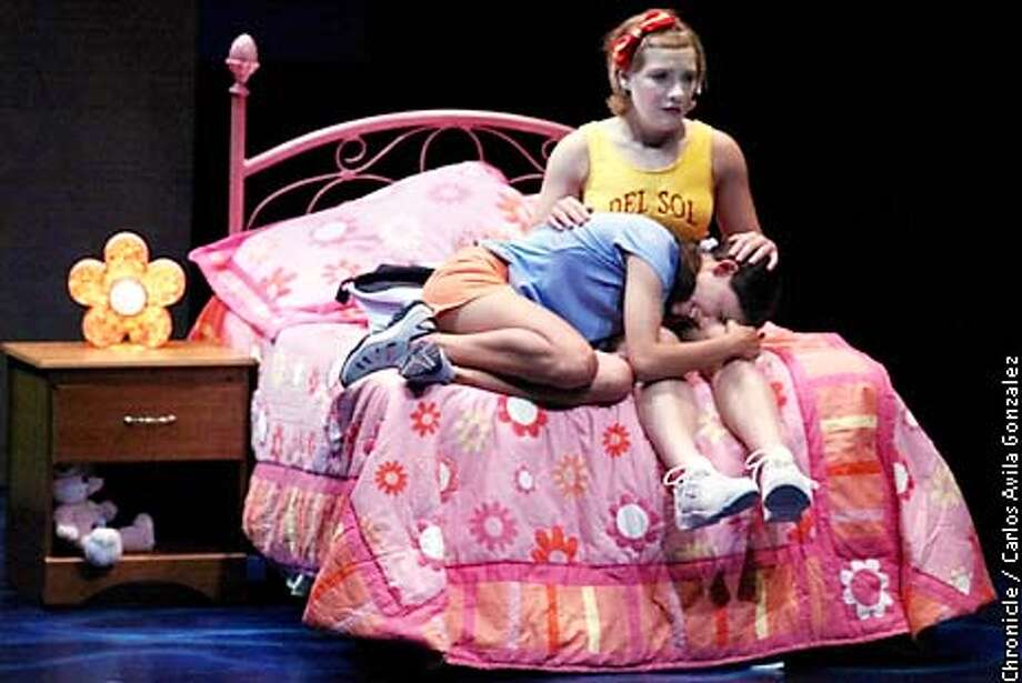 a perky take on teen spirit    theatreworks u0026 39   u0026 39 be aggressive u0026 39  fresh  snappy