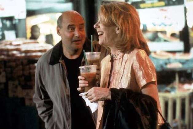 Jeffrey Tambor and Jill Blayburgh in NEVER AGAIN. Photo: HANDOUT