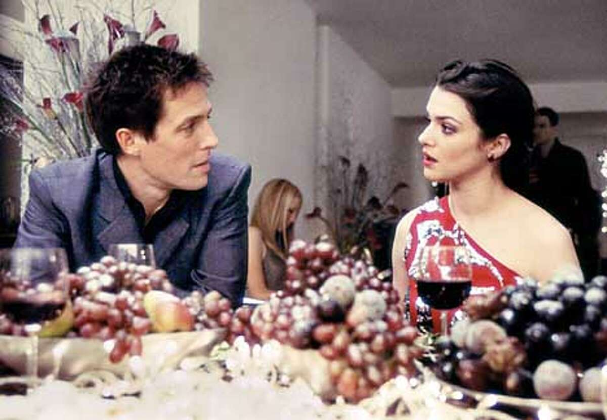 The rich, self-absorbed single guy (Hugh Grant) finds himself falling in love with a single mother (Rachel Weisz).