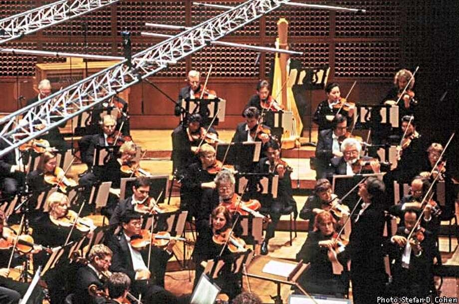 Sept 2002 Mahler live concert recordings. photos by Stefan D. Cohen. Photo: HANDOUT