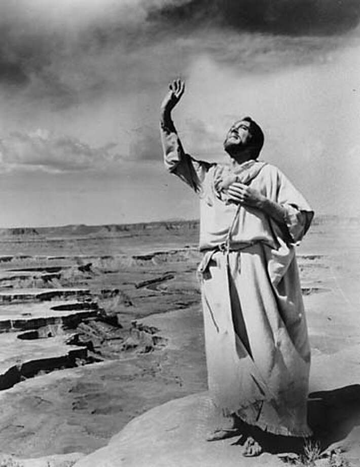 """""""The Greatest Story Ever Told""""(1965)Total earnings: $15,473,333Starring: Max von Sydow, Dorothy McGuirePlot: This epic film retells the entire story of Jesus Christ, from cradle to grave (and resurrection.) Photo: NBC-TV"""
