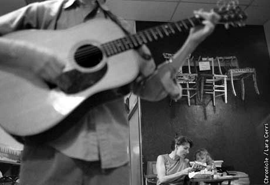 The Baja Taqueria is an unlikely place to hold a weekly bluegrass jam, but it succeeds in attracting everyone from children to seniors. (Ed. -- IDs TBA) (CHRONICLE PHOTO BY LARA CERRI) Photo: LARA CERRI