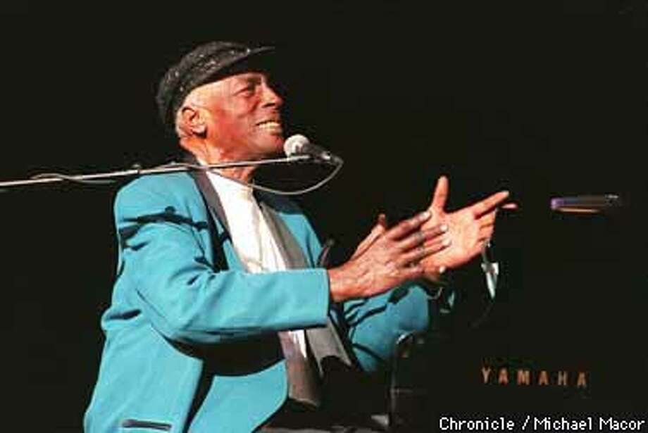 Charles BrownBrown earned his spot in the Hall of Fame as a musical giant in the pre-rock and roll days. Born down the road in Texas City in 1922, it's been said that Brown influenced Ray Charles.  Photo: MICHAEL MACOR