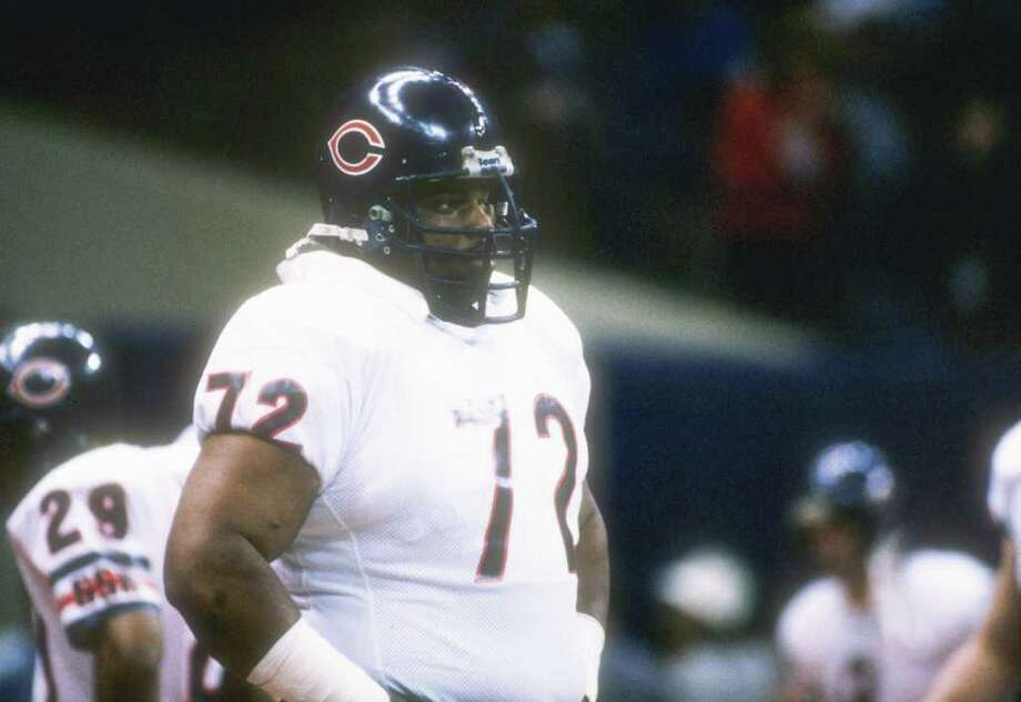 Refrigerator Perry (12):The Fridge was a better pop culture phenomenon than a football player.  Photo: Mike Powell, Getty Images / Getty Images North America