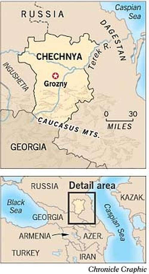 Chechnya. Chronicle Graphic