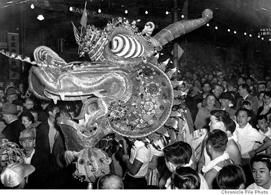 San Francisco Chinese New Year's Parade 1954.