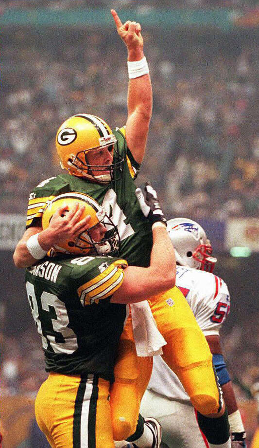 Brett Favre (29):Before he retired, finally, for the 93rd time, he broke every quarterback record and won the 1996 title with the Packers. Photo: DON EMMERT, AFP/Getty Images / AFP