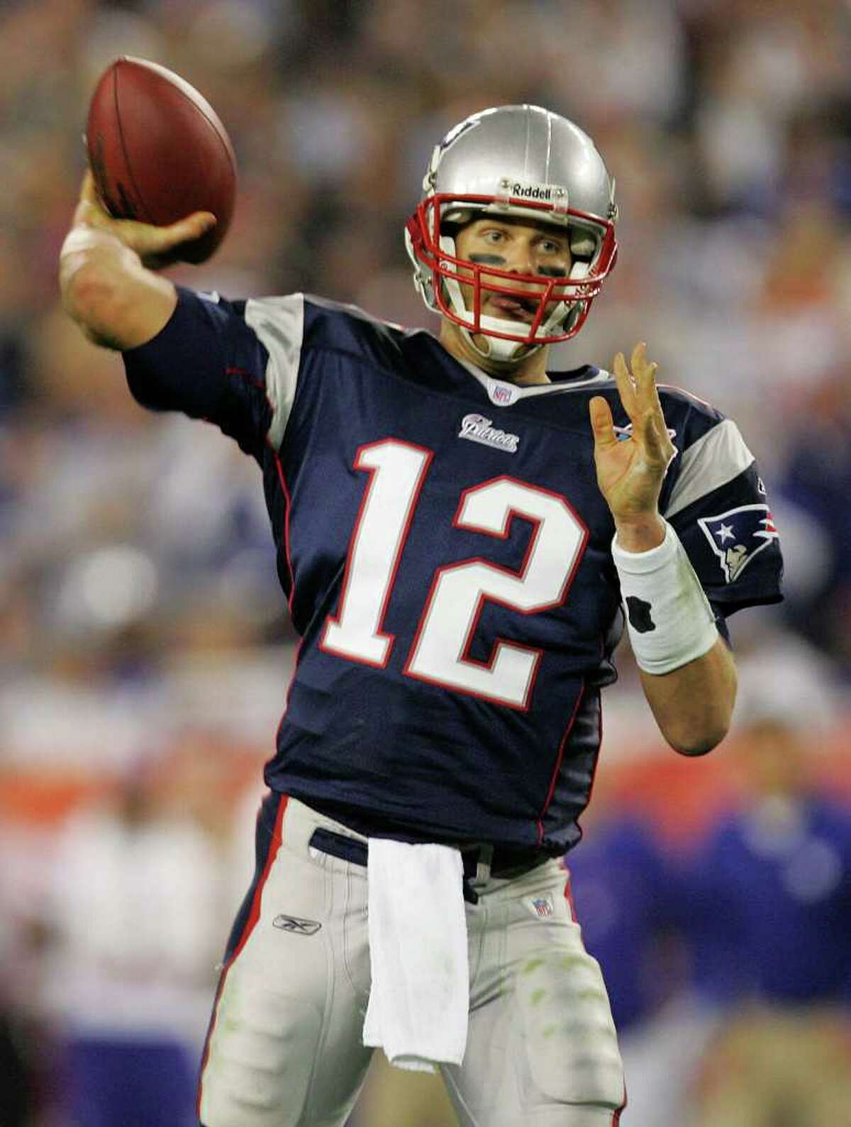 Tom Brady (1): He is the most recognized player in the NFL right now. And he scored off the field, too. See the next slide. And another later.