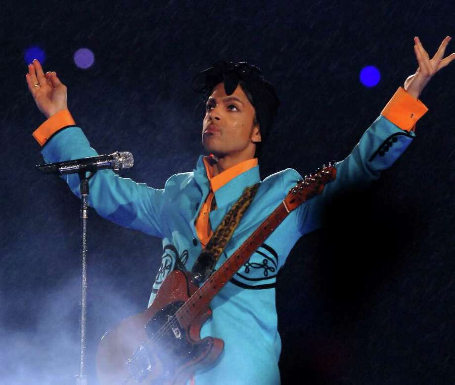 Prince (42): The artist formerly – and currently – known as Prince starred at halftime in 2006. Photo: Theo Wargo, NFL / Getty Images North America