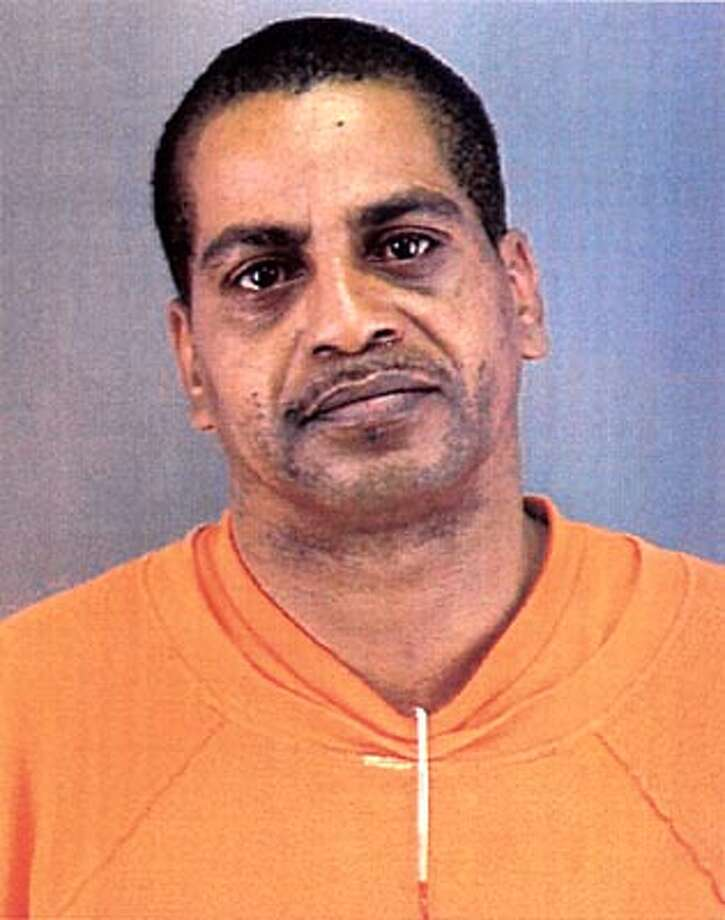 SFPD mugshot of Clay Cael, accused of taking his wife hostage. Photo: HANDOUT
