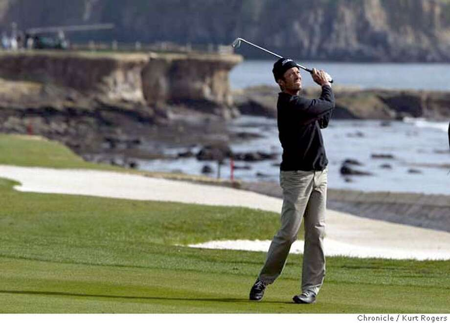 Tommy Tolles on the 18th hole The AT&T Pebble Beach National Pro-Am. Event on 2/5/04 in Pebble Beach. Kurt Rogers/The Chronicle Photo: Kurt Rogers