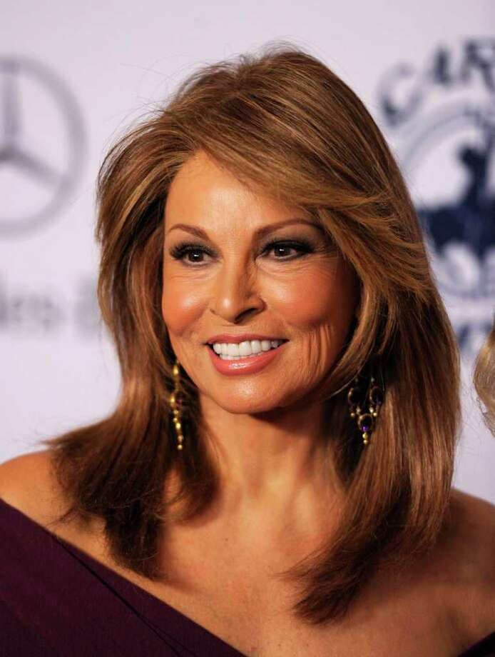 Raquel Welch (23): And Namath got the girl, too. Photo: Kevin Winter, Getty Images / 2010 Getty Images