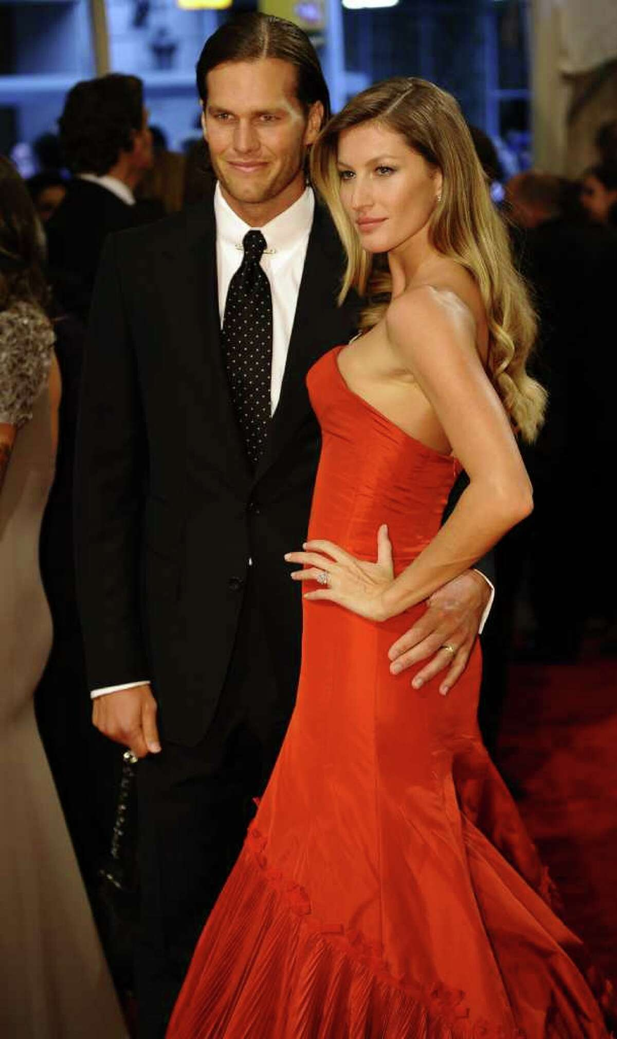 Gisele Bundchen (2): Because everything else is going so horribly in his life, Tom Brady, the Super Bowl-winning, MVP QB Poster Boy (and Pretty Boy) landed a Victoria's Secret model for a wife.