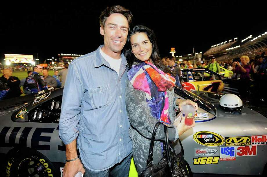 Angie Harmon (17): Jason Sehorn was better known as Mr. Angie Harmon than as a Giants cornerback.  Photo: Jason Smith, Getty Images For NASCAR / 2011 Getty Images