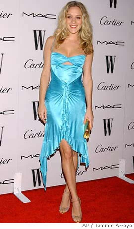 """is seen at the """"W Magazine Celebrates The Glamour Of The 61st Annual Golden Globes"""" event held at the Plaza at the Pacific Design Center on January 23, 2004 in West Hollywood, Ca. (AP Photo/Tammie Arroyo) Photo: TAMMIE ARROYO"""
