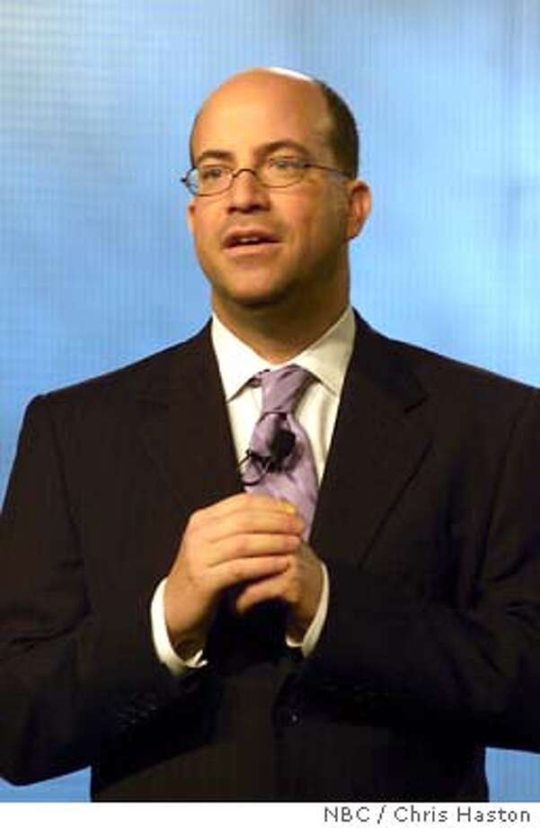 GOODMAN02  NBC WINTER PRESS TOUR JANUARY 2004 -- NBC Event -- Executive Session -- Pictured: Jeff Zucker, President, NBC Entertainment, News and Cable Group