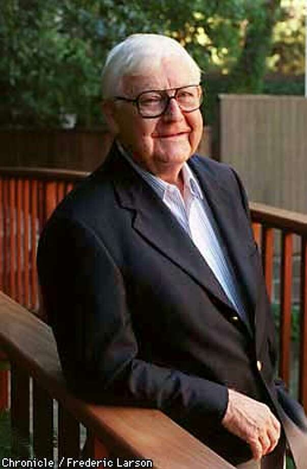 WISE/06OCT97/DD/FRL: Robert Wise the famed Hollywood moive director. Chronicle photo by Frederic Larson