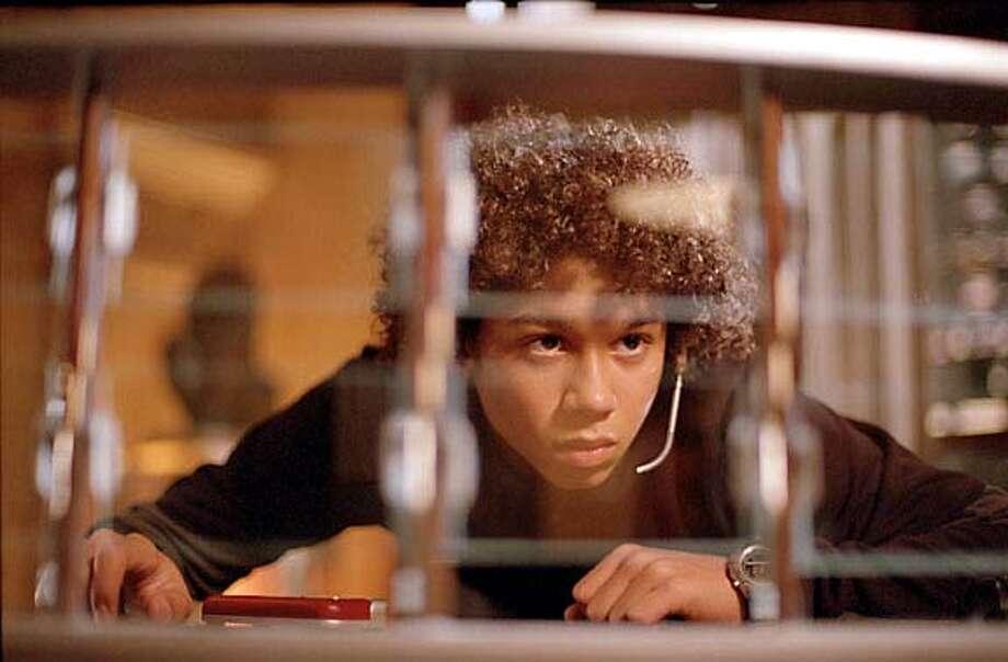 Corbin Bleu readies himself for a daring mission. Photo credit: Richard Foreman  2003 Twentieth Century Fox