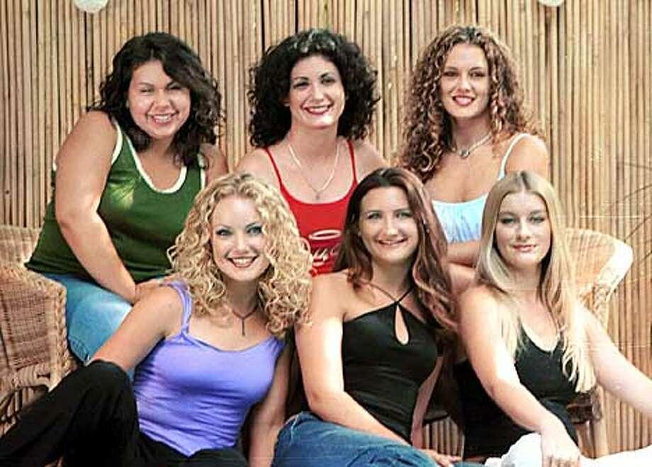 A cast shot from MTV's SORORITY LIFE. Photo I.D. upper row (L-R): Jessica, Mara, Jordan  lower row (l-R): Candace, Amanda, Dede  The photographer is John Decker. (HANDOUT PHOTO) Photo: HANDOUT
