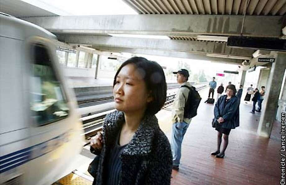 Yeeng Lee (cq) commutes between El Cerrito and Oakland daily and will be one of the unfortunate bart patrons effected if the board of directors vote in favor of increasing tolls thursday. BY LANCE IVERSEN/SAN FRANCISCO CHRONICLE Photo: LANCE IVERSEN