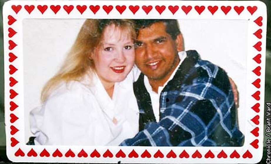 Nasir Ali Mubarak, left, shown in happier times with his wife Stephanie Mubarak. Nasir may be deported from the United States because of some involvement with known terrorists. By Brant Ward/Chronicle Photo: BRANT WARD