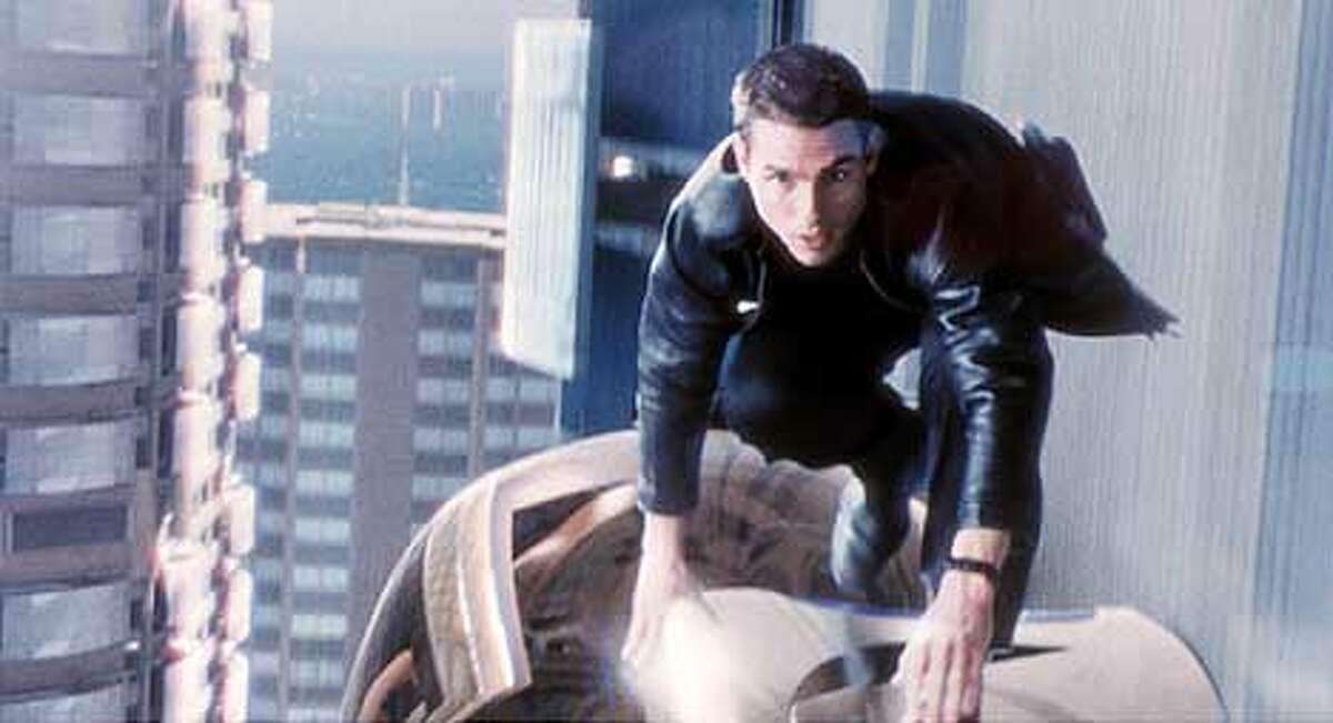 Tom Cruise in MINORITY REPORT. (HANDOUT PHOTO)