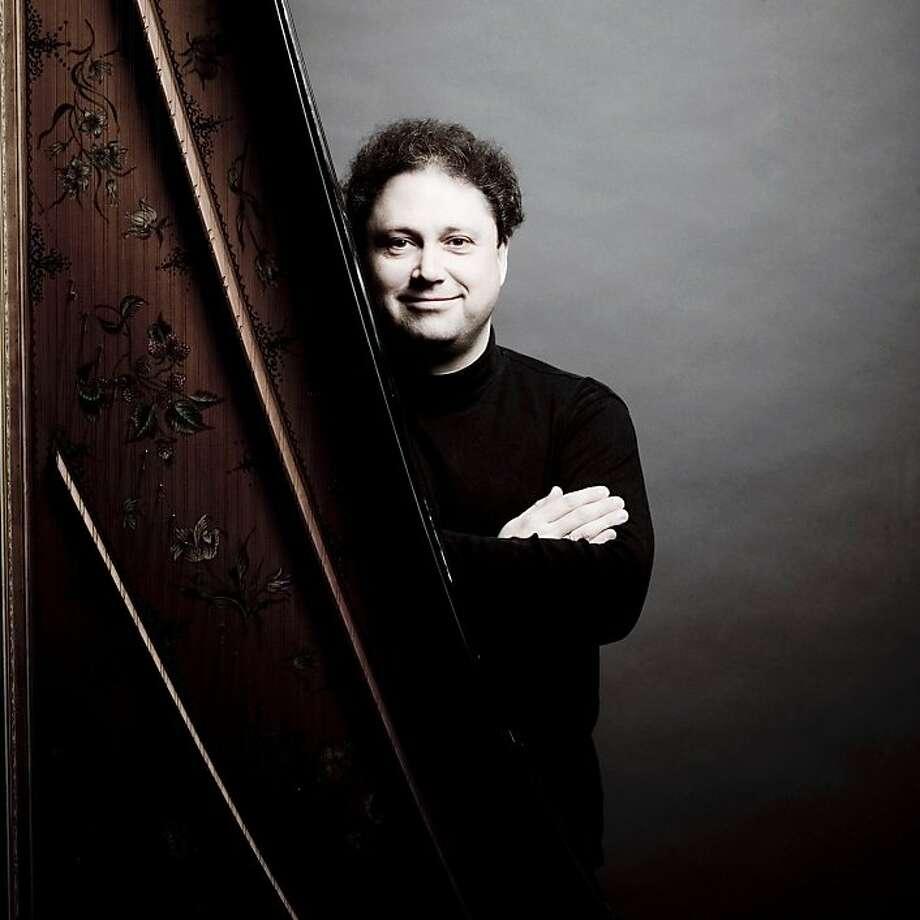 Harpsichordist and conductor Richard Egarr Photo: Marco Borggreve