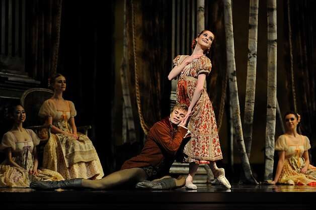 Clara Blanco and Gennadi Nedvigin in Cranko's Onegin. Photo: Erik Tomasson, SF Ballet
