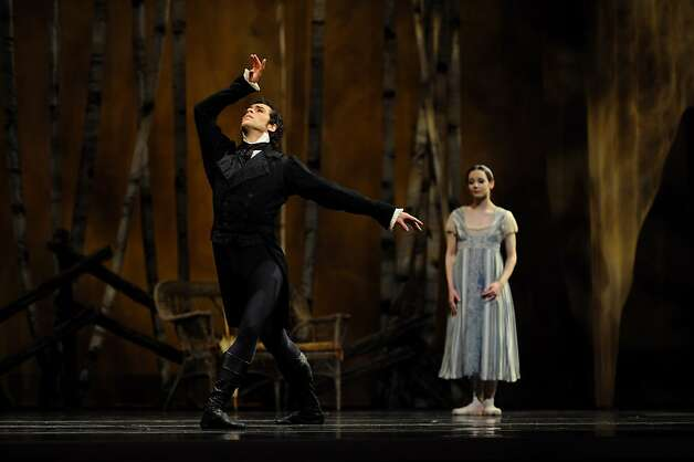 Maria Kochetkova and Vitor Luiz in Cranko's Onegin. Photo: Erik Tomasson, SF Ballet
