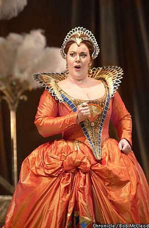GIULIO21c-C-16JUN02-DD-BM  Handel's opera Giulio Cesare at SF Opera. Ruth Ann Swenson (Cleopatra)  chronicle photo by Bob McLeod Photo: BOB MCLEOD