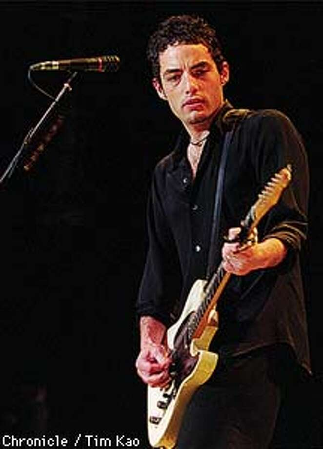=Dyland of the Wallflowers. PHOTO BY TIM KAO/THE CHRONICLE Photo: TIM KAO