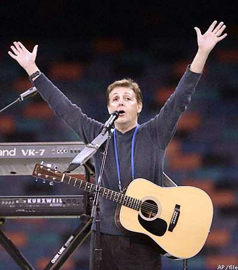 """Paul McCartney was only 25 when he sang, """"""""Will you still need me, will you still feed me/ When I'm sixty-four.'' Now it's just four years away. Associated Press Photo"""