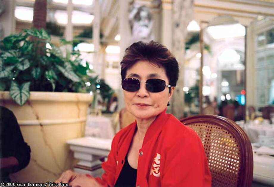 Yoko Ono says broader public recognition of her art followed a 1989 showing at the Whitney Museum of American Art of objects she made in the 1960s, along with bronze castings of the objects. Photo by Sean Lennon/Yoko Ono