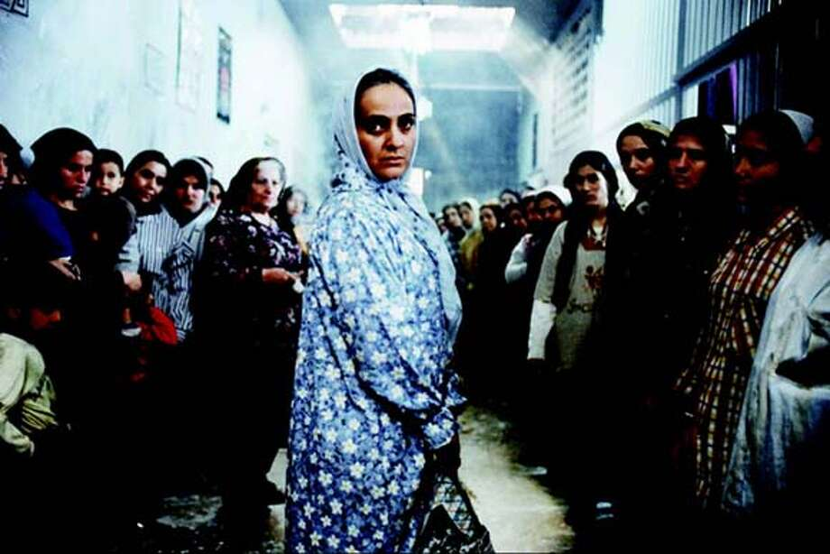 """""""Women's Prison,"""" a film from Iran, will be show to junior and senior high school students  . Fred Hayes/ITVS  Ira Nowinski / The Chronicle Photo: Fred Hayes/ITVS Ira Nowinski"""