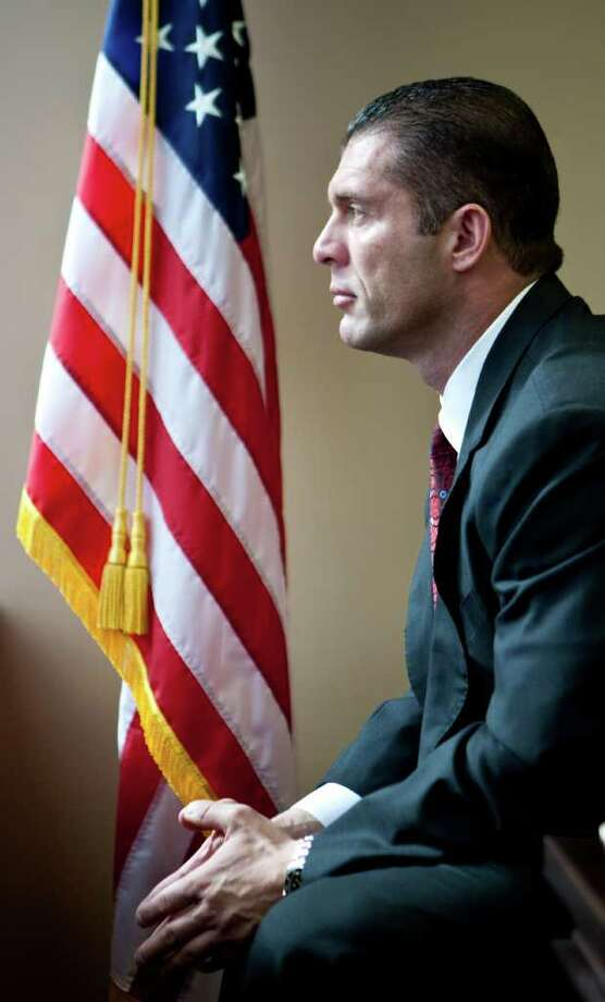 Houston attorney Jason Gibson hopes to be the first Texas Democrat to be a U.S. senator in over 20 years. He says his late grandfather, O.D. Kenemore, inspired him to become a plaintiff's lawyer. Photo: Nick De La Torre / © 2012  Houston Chronicle