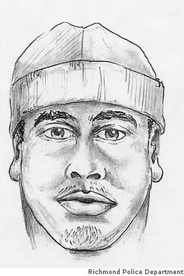 First guy(beanie): Suspected in rape Jan. 16 in Richmond ca. for a Michael Collier story. handout from the Richmond pd.