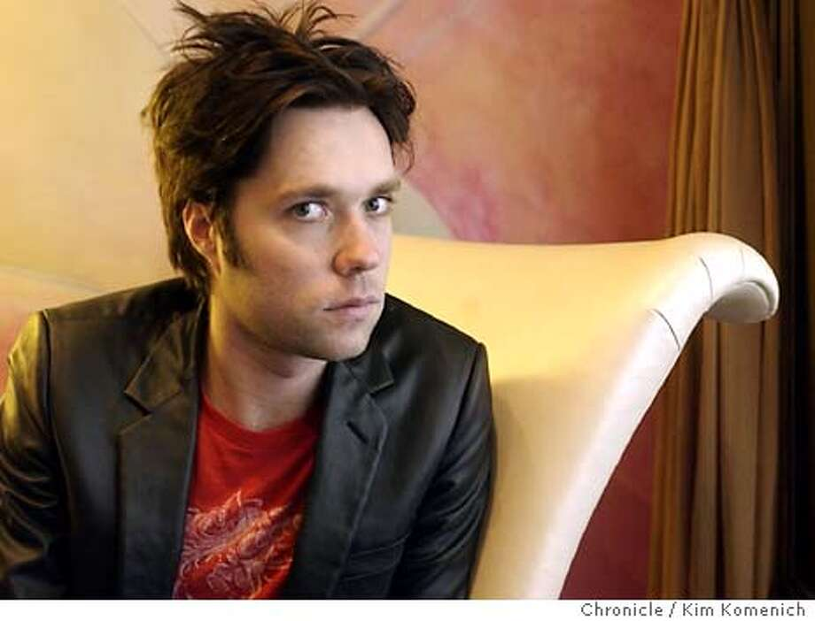 Portraits from a quick session with singer/pianist Rufus Wainwright. Photographed in the lobby of the Triton Hotel.  KIM KOMENICH/The Chronicle Photo: KIM KOMENICH