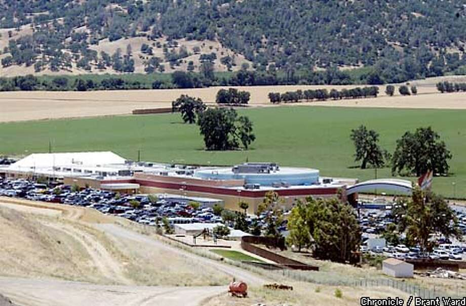 The Cache Creek Casino in Brooks, CA. is planning to expand...adding a hotel and a larger gaming area...farmers in the area are concerned about traffic the implicationsl of widening highway 16. By Brant Ward/Chronicle Photo: BRANT WARD