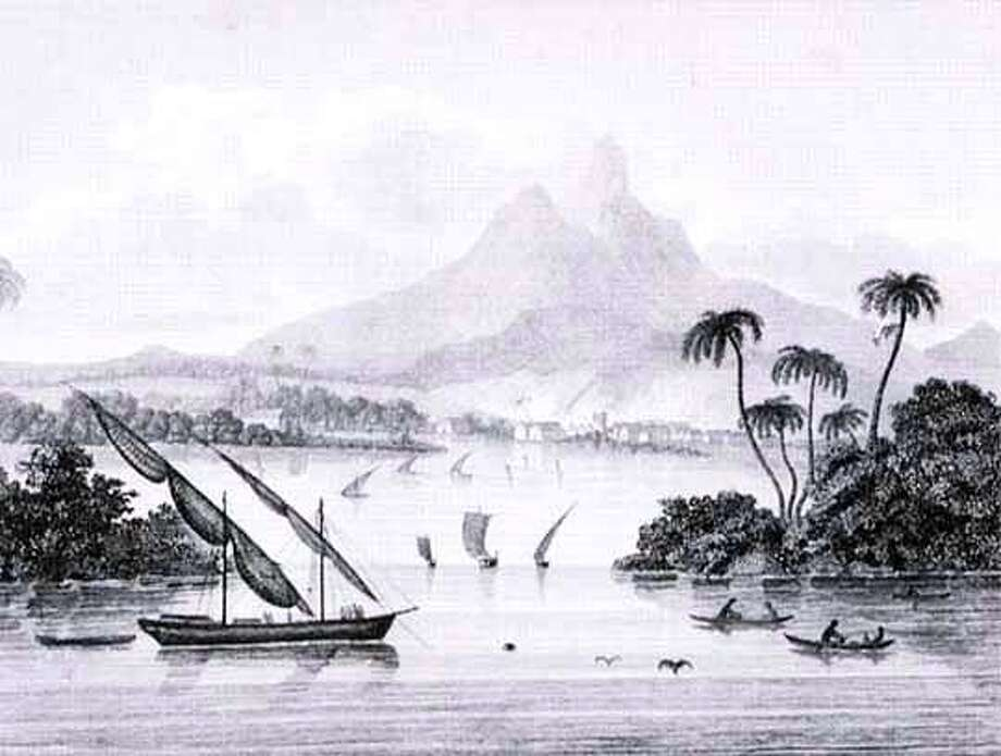 PORT OF BLACK RIVER, POYAIS. GUIDEBOOK BY AUTHOR CAPTAIN THOMAS STRANGEWAYS
