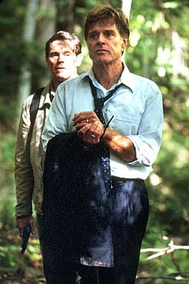 INSIDER16  Front to Rear: Robert Redford and Willem Dafoe star in The Clearing. Photo Credit: Lorey Sebastian