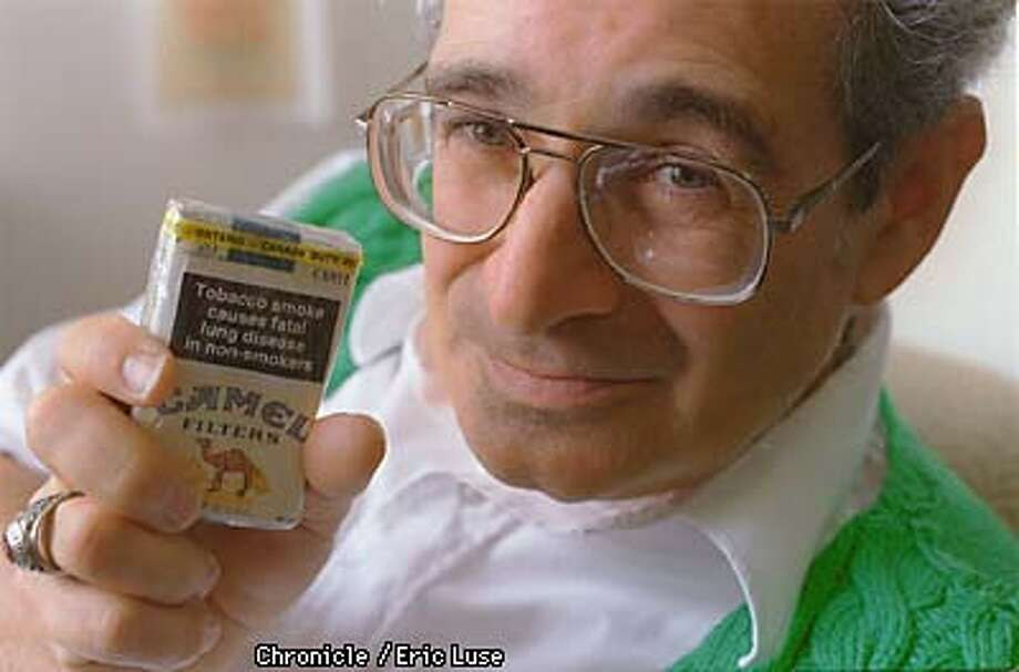 "Stan Glantz from UCSF Medical Center is a long time fighter of the tobacco giants. Will the U.S. every see this kind of warning label found in Canada. Glantz says""Don't hold your breath.""  Photo by Eric Luse Photo: Eric Luse"