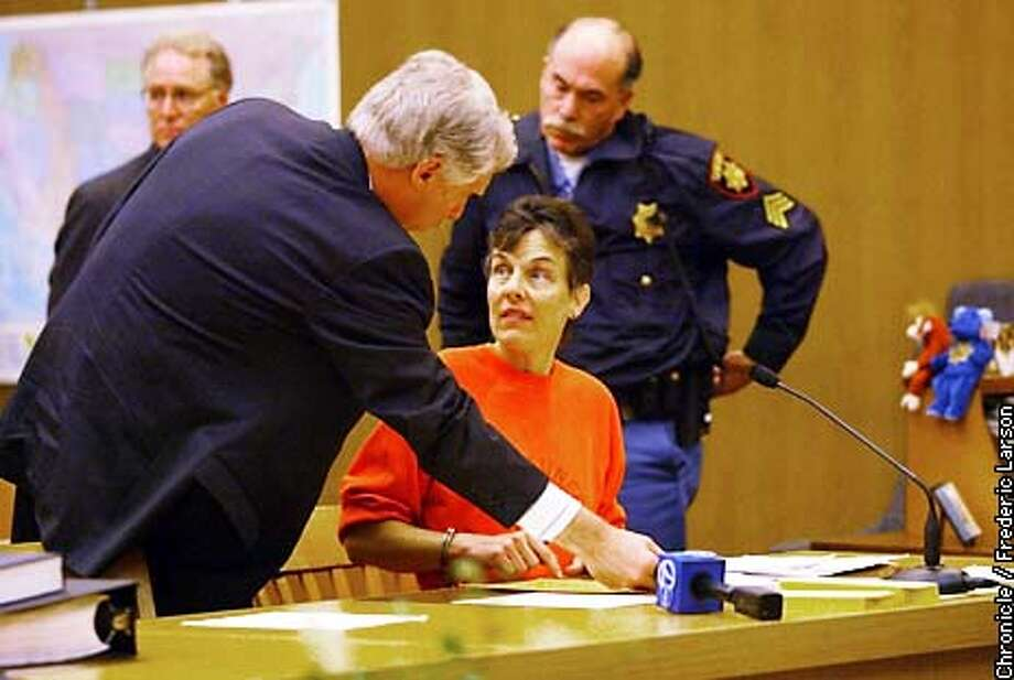 : Donna Marie Burns Anderson, who has been charged with murdering her  son and stabbing her ex-husband Burlingame pleaded guilty Friday (6/7) on all counts at San Mateo County Superior Court, in Redwood City. Pool photo by Frederic Larson/San Francisco Chronicle Photo: FREDERIC LARSON