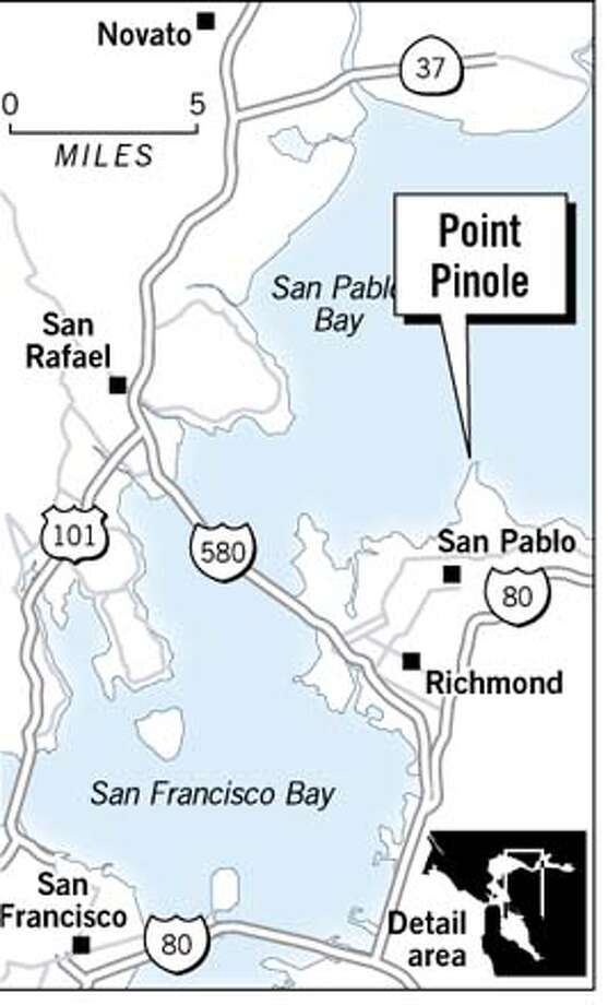 Point Pinole. Chronicle Graphic Photo: Jack Ivers