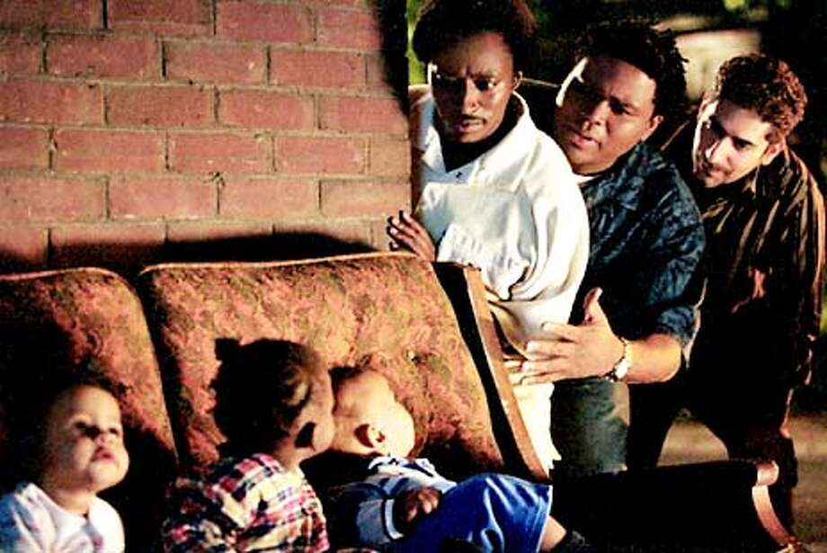 DADDY12 Eddie Griffin, Anthony Anderson and Michael Imperioli in Miramax's My Baby's Daddy