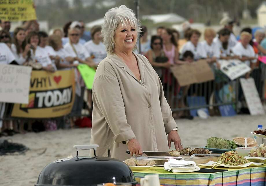FILE-  This Friday, Feb. 22, 2008 file photo shows celebrity chef Paula Deen as she waits to make an appearance on the Today Show in Miami Beach, Fla. Deen recently announced that she has Type 2 diabetes.      (AP Photo/J. Pat Carter, file) Photo: J. Pat Carter, Associated Press